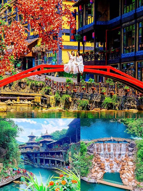 清远团建活动策划方案_古龙峡玻璃峡谷玩越野车泡温泉两天一夜游