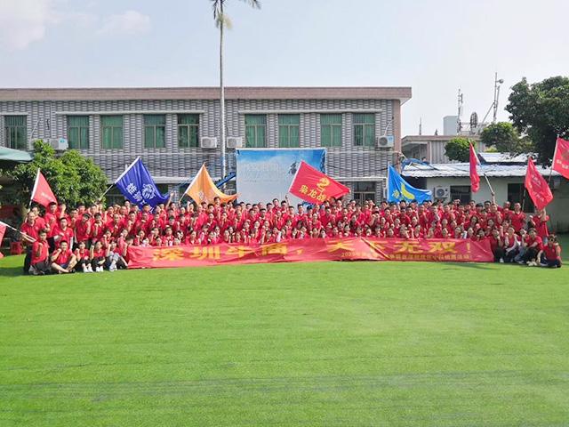 第六届牛商争霸赛深圳战区339人中段拓展活动一天